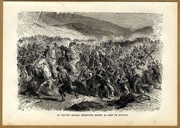 Russian-Turkish War 1878 Montenegro VS Turkey Battle Of Ulcinj  Montenegro Voivode Božo Petrović - Prints & Engravings