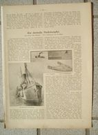 068 Deutsche Fischdampfer Artikel Mit 7 Bildern Von 1910 !! - Books, Magazines, Comics