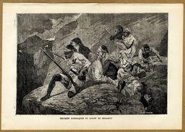 Russian-Turkish War 1878 Bosnia Bosnians Sarajevo Insurgents Partisans Militia - Prints & Engravings