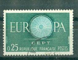 FRANCE - N° 1266 Oblitéré - Europa 1960. - Gebruikt