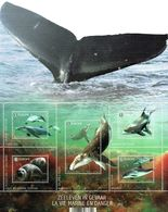 2017 - BL 254 -  La Vie Marine En Danger - Velletjes
