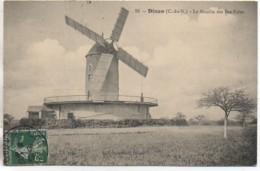 22 DINAN  Le Moulin Des Bas-Foins (carte Peu Courante) - Dinan