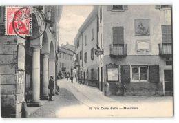 CPA Mendrisio Via Corto Bello - TI Tessin