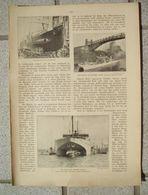 074 Unterseeboote Vulkan Werft Bremen Artikel Mit 10 Bildern Von 1911 !! - Policía & Militar
