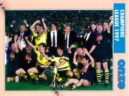 Fiche, Football (1997) : BORUSSIA DORTMUND (Champions League 1997 à Munich) Recto-Verso - Collections