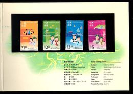 Hong Kong 1998 SCOUTS Presentation Pack BOY SCOUT, Girl Scout, BADEN POWELL - 1997-... Chinese Admnistrative Region