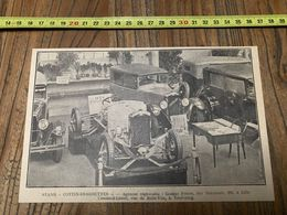 ANNEES 20/30 STAND COTTIN DESGOUTTES GOBERT FRERES LILLE CORSELLE LEMAN RUE DE BELLEVUE TOURCOING - Collections