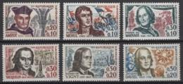 France: 1963. Y&T  N° 1370/75 ** MNH, Neuf(s). Cote Y&T 2020 : 8,50 € - Neufs