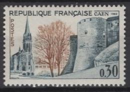 France: 1963. Y&T  N° 1389 ** MNH, Neuf(s). Cote Y&T 2020 : 0,30 € - Ungebraucht