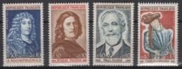 France: 1965. Y&T  N° 1442/45 ** MNH, Neuf(s). Cote Y&T 2020 : 2 € - Neufs