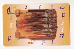 BOTSWANA REF MV CARDS BOT-17 FINGER PIANO P10 CN On Picturial Side - Botsuana