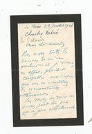 CHARLES MERE (MARSEILLE 1883 PARIS 1970) AUTEUR DRAMATIQUE REALISATEUR SCENARISTE FRANCAIS LETTRE A SIGNATURE DE 1928 - Autographs
