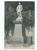 Postcard Algeria Statue Of Marechal Mac Mahon Posting 1909 Posted In Gibraltar - Algeria