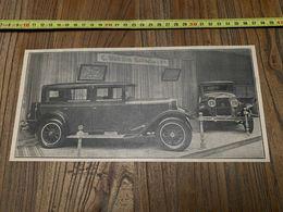 ANNEES 20/30 STAND DES AUTOMOBILES VAN DEN BUSSCHE ET CIE ROCHET SCHNEIDER - Collections