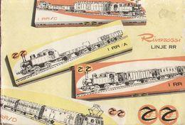 Catalogue RIVAROSSI 1959 Modelljärnvägar Linje RR - Ensuédois - Boeken En Tijdschriften