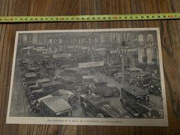 ANNEES 20/30 SALON DE L AUTOMOBILE AU PALAIS RAMEAU A LILLE STANDS PEUGEOT CITROEN - Collections