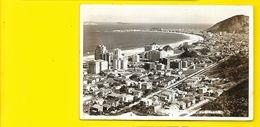 Carte Photo RIO De JANEIRO COPACABANA Brésil - Copacabana