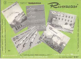 Catalogue RIVAROSSI 1960 Brochure HO FIAT 500 E FIAT 600 Teleguida - En Italien - Boeken En Tijdschriften