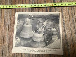 ANNEES 20/30 CUISSON DES MOULES EN ARGILE OU FAUSSE CLOCHE - Collections