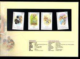 Hong Kong International Year Of Older Persons 1999 Presentation Pack MNH - 1997-... Chinese Admnistrative Region