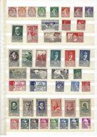Collection De Timbres Neufs Sans Charnière Du N° 108 Au N° 994 (cote + 550 Euros)  De 1900 à 1954 Lire Description Svp - Collections