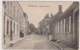 62  AUDRUICQ  - Rue Du Nord  - CPA  N/B 9,5x14 BE - Audruicq