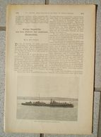 082 Modernes Seewesen Artikel Mit 6 Bildern Von 1886 !! - Books, Magazines, Comics