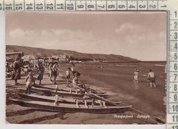 MANFREDONIA  SPIAGGIA 1953   BARCHE SHIP - Manfredonia