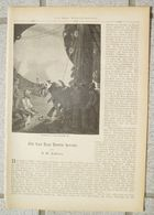 085 Um Das Kap Horn Herum Artikel Mit 6 Bildern Von 1888 !! - Books, Magazines, Comics