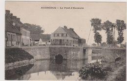 62  AUDRUICQ  - Pont Hennuin Café à La Descente Des Voyageurs  - CPA  N/B 9,5x14 BE Neuve - Audruicq