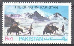 Pakistan - Trekking- Horse? - Ox? - MNH - Briefmarken