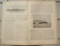 089 Geschwindigkeit Der Ozeandampfer Artikel Mit 10 Bildern Von 1897 !! - Transports