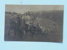 Serbia Srbia 698 Kajmak-Čelan 1916 Foto Albium Vojni Svecenik Šukovic Artiljeria - Serbie