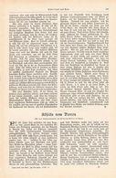 090 Perron Bahnsteig Lokomotive Dampfmaschine Artikel Mit 9 Bildern Von 1902 !! - Transports