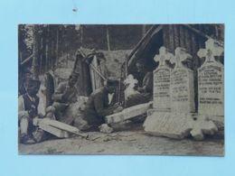 Serbia Srbia 699 Kajmak-Čelan 1916 Foto Albium Vojni Svecenik Šukovic Nadgrobni Spomenik - Serbie