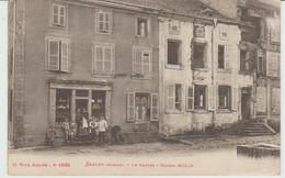CPA SAALES (67) LE CENTRE - MAISON MOLIN - ANIMEE - Autres Communes