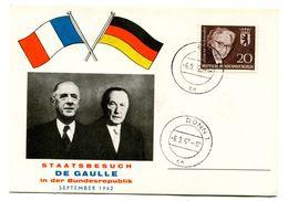 Thème Général De Gaulle - Voyage En Allemagne Septembre 1962 - R 5822 - De Gaulle (Generaal)
