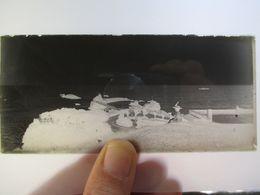 BIARRITZ - LONGUE PLAQUE DE VERRE NEGATIVE  -  Format 6 X 13   - Circa 1920/30  BE - Plaques De Verre