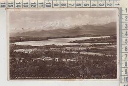 VARESE VISTA DEL LAGO COL MONTE ROSA VG  1935 - Varese