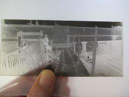 A IDENTIFIER - Voie Ferrée - LONGUE PLAQUE DE VERRE NEGATIVE  -  Format 6 X 13   - Circa 1920/30  BE - Plaques De Verre