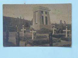 Serbia Srbia 700 Kajmak-Čelan 1916 Foto Albium Vojni Svecenik Šukovic Groblje Cemetery Ed Jakob Kapponn - Serbie