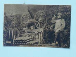 Serbia Srbia 701 1916 Foto Albium Vojni Svecenik Šukovic Artiljeria Topništvo Ed Jakob Kapponn - Serbie