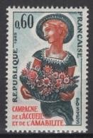 France: 1965. Y&T  N° 1449 ** MNH, Neuf(s). Cote Y&T 2020 : 0,60 € - Neufs
