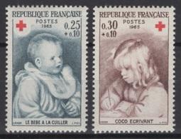 France: 1965. Y&T  N° 1466/67 ** MNH, Neuf(s). Cote Y&T 2020 : 0,80 € - Neufs