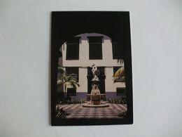 Postcard Postal Portugal Madeira Funchal Estátua Leda E O Cisne - Madeira
