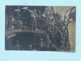 Serbia Srbia 703 1916 Foto Albium Vojni Svecenik Šukovic Ed Jakob Kapponn Krf Solun Brod Ship - Serbie