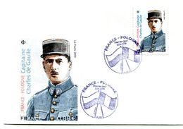 Thème Général De Gaulle - PJ Timbre France Pologne Avril 2019  - R 5830 - De Gaulle (Generaal)