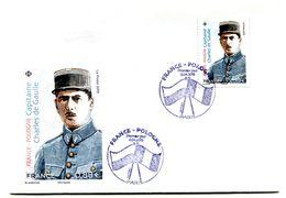 Thème Général De Gaulle - PJ Timbre France Pologne Avril 2019  - R 5831 - De Gaulle (Général)