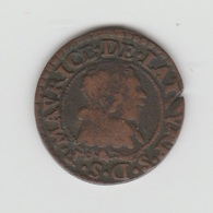 PRINCIPAUTE DE SEDAN DOUBLE DENIER 1632 FREDERIC MAURICE - 476-1789 Monnaies Seigneuriales