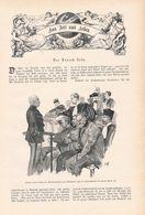 107 Prozess Emile Zola Panzerkreuzer Maine 1 Artikel Ca.15 Bildern Von 1897 !! - Política Contemporánea
